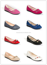 OEM cheap women/girl shoes lady shoe bud silk