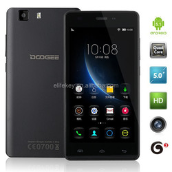 5.0 Inch MT6580 Quad Core 1280*720 IPS Screen DooGee X5 Smart Phone
