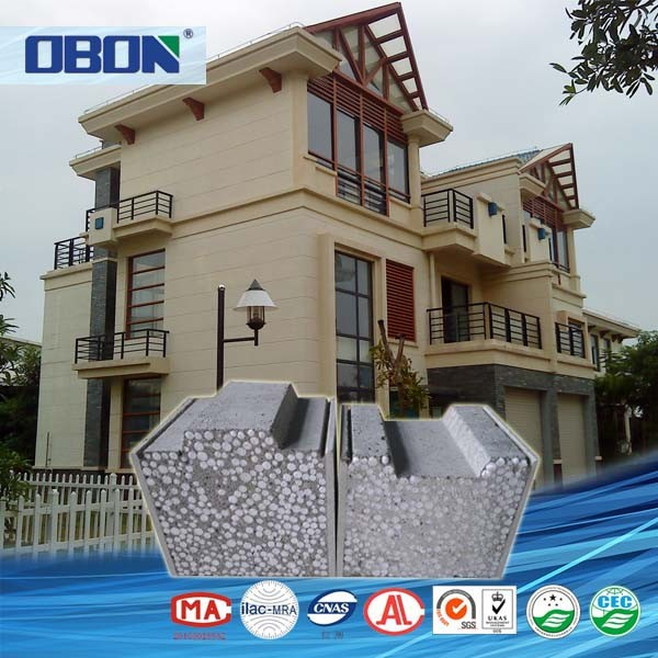 OBON Lightweight Exterior Wall Panel Building Materials For Houses