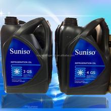 suniso refrigeration oil for compressor , auto a/c compressor oil , 4gs refrigeration lubricant oil