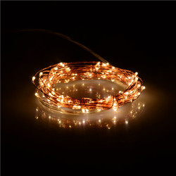 Twinkle 20ft 120LED's Copper Wire LED Lights copper Wire LED Starry Light with Remote Controller