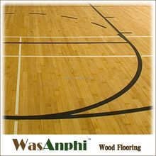 Top-Quality Maple Hardwood Basketball Flooring