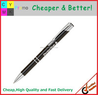 Top Quality Logo printed or Engraved Aluminum metal promotional pen