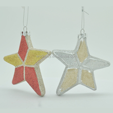 Vintage decorated star christmas tree ornament
