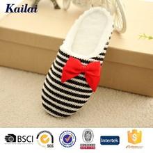 sweet and popular women sheepskin indoor slipper