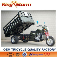 300cc 3 wheel Heavy Duty Truck Cargo Adult Tricycle Three Wheel Motorcycle