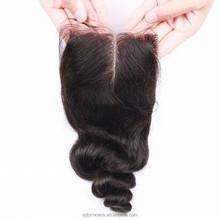 Qingdao Princess Wholesale 100% Human Hair Alibaba Express Lace Closure,Virgin Indian Hair Lace Closure Loose Wave Top Closure