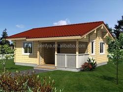summer beach wooden house
