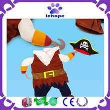 Pirate cosplay costume dog for Halloween