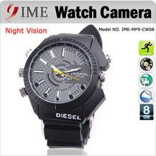 Fashionable wrist watch camera with night vision,camera watch,8GB16GB32GB HD 1080P watch DVR