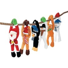 Christmas Hanging toys Plush hanging toys Holiday Stuffed Toys