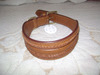 Wholesale dog Collars Plain Leather