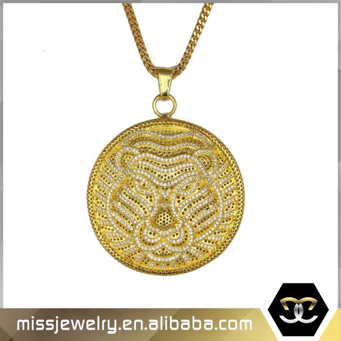 Real gold jewelry cheap lion pendants genuine gold coin pendant for mjhp063g1 aloadofball Image collections