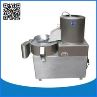 Commercial potato peeling and cutting machine for sale