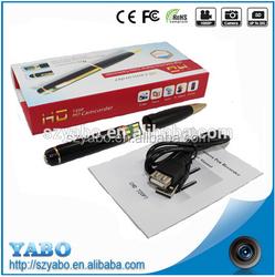 spy Hidden Pen Camera HD support TF Card Socket Super Mini DV Hidden Microphone & Cameras