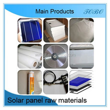 Factory+Mono+Poly solar panel raw material