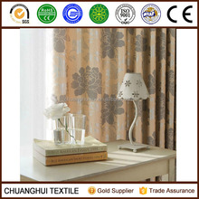 2014 New Arrrival Thermal Insulated floral blackout curtain pinch pleat curtain
