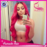 pink human hair wigs , cheap pink wig , pink wig