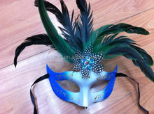 wholesale party masquerade masks with stick/half face masquerade masks MSK27