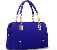 Good quality women handbag stock, big quantity stock leather handbag for lady PU leather women hand bag