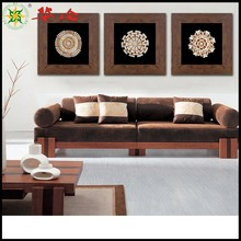 The best selling wall shadow box art name The rain falls designer living room decoration