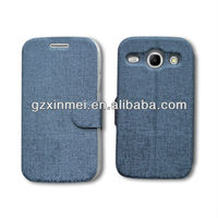 leather mobilephone case for samsung galaxy core i8260 i8262