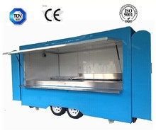 china food caravan CE approve china food caravan