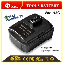 Universal charger power tool battery for AEG BS12CA