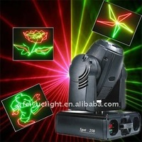 FY-1835 RGY moving head flash laser light