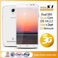 Fashion 5 Inch 3G Two Camera Dual Sim Simple City Call Mobile