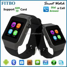 Ingenious Latest 32GB APP Quick GSM SIM cheap watch phone FTB15
