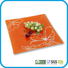 Hot sale square tempered glass dishes