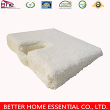 Lamb Wool Cover Wedge Shaped Adult Car Coccyx Cushion