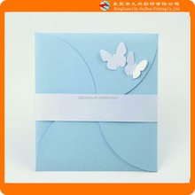 Holy angels two White butterflies exquisite birthday greeting card