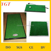 Latest hot selling artificial grass golf mat golf mat mates