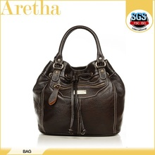 2014 best selling!leather bucket bag/cc brand bag