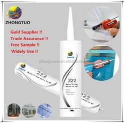 china made hot sale aquarium silicone sealant