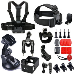 Smatree Accessories for Gopros 25-in-1 Gopros accessories kit - for Go pro HD Heros 4/3+/3/2/1 Camera