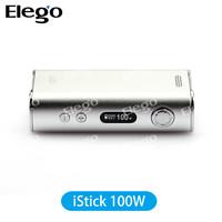 100w Eleaf istick battery VV/VW box mod original 100w eleaf istick 18650 mod kit