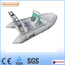 2015 CE certificate 4.2m fiberglass inflatable boat for sale