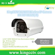 Full hd cmos sensor HK-HT-HE220 poe suport WIFI 3g sim slot ip camera