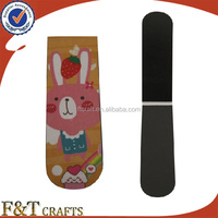 Custom high quanlity cartoon characters paper bookmark for hot sales