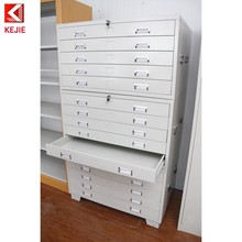 Austrilia Style Map File Cabinet A4 Card Storage Cabinet Multi Drawers Blueprint Chest for Sale