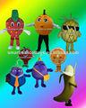 agradable perspectiva de trajes de carnaval de frutas frutas trajes de disfraces