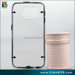 cheap goods from china transparent clear hard case for samsung galaxy S6