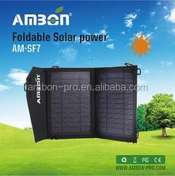 New year Best Offer ~Solar Panel 7Watt,Foldable Solar Panel,Solar Panel for cell phone or outdoor