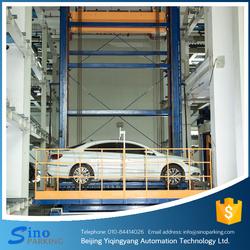 Travelling stack equipment smart car parking system