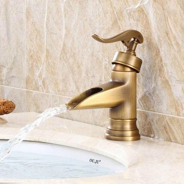 nuevo estilo de bronce antiguo grifería marca de agua-Grifería de ...