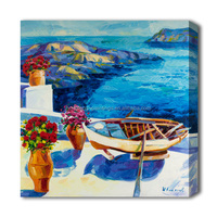 Mediterranean scenery oil painting decorative home pictures