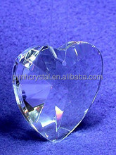 wholesale chinese crystal heart ornament for art decoration MH-B1022
